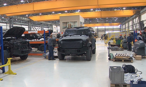 В Казахстане началось производство бронированных колесных машин «Алан»