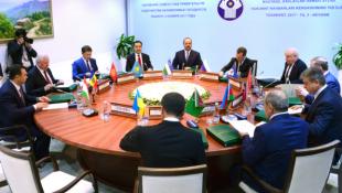 Б.Сагинтаев принял участие в заседании Совета глав правительств СНГ в Ташкенте