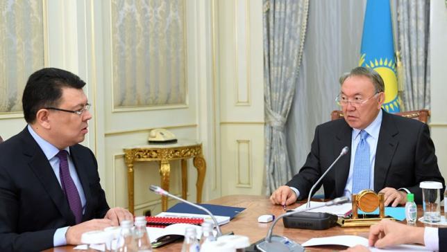 Глава государства принял министра энергетики Каната Бозумбаева
