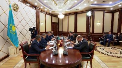Н.Нигматулин обсудил Послание Президента с парламентариями Финляндии