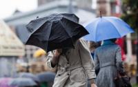 В ряде областей страны объявлено штормовое предупреждение