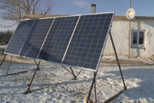 Солнечные батареи начали устанавливать на отдаленных зимовках Костанайской области
