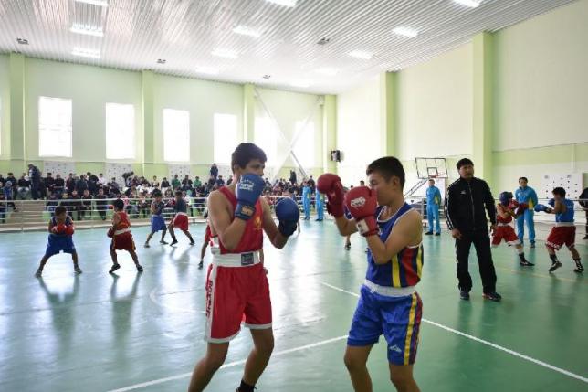Школу бокса открыли в Шымкенте