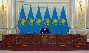 Пресс-конференция Н.Назарбаева по итогам президентских выборов