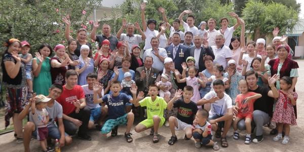 «Мерейлі отбасы-2018». Жамбыл облысы, Ниязқұловтар отбасы
