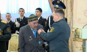Ұлы Отан соғысы ардагерлеріне Украина президенті атынан медальдар табысталды