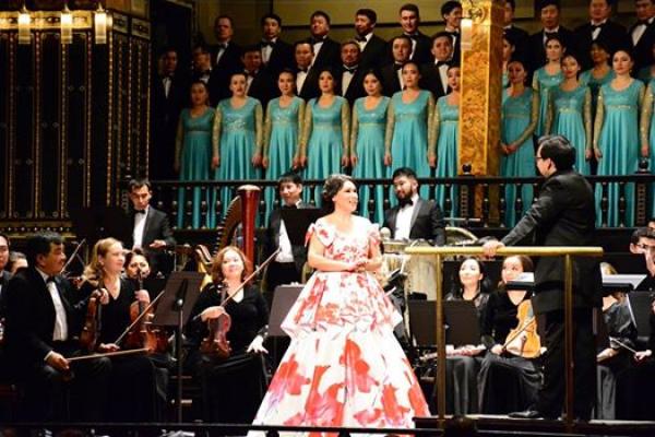 «Астана Опера» представила Венгрии казахстанское искусство
