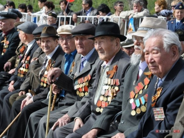 Солтүстік Қазақстан облысында Жеңіс күнін 159 соғыс ардагері қарсы алды
