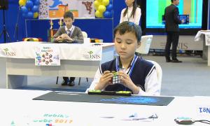 В Павлодаре состоялся первый турнир по спидкубингу среди юных интеллектуалов
