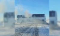 Ертіс өңірінде жол бойында қалған автобус жолаушылары құтқарылды
