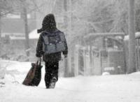 Отменены занятия в школах и колледжах Астаны